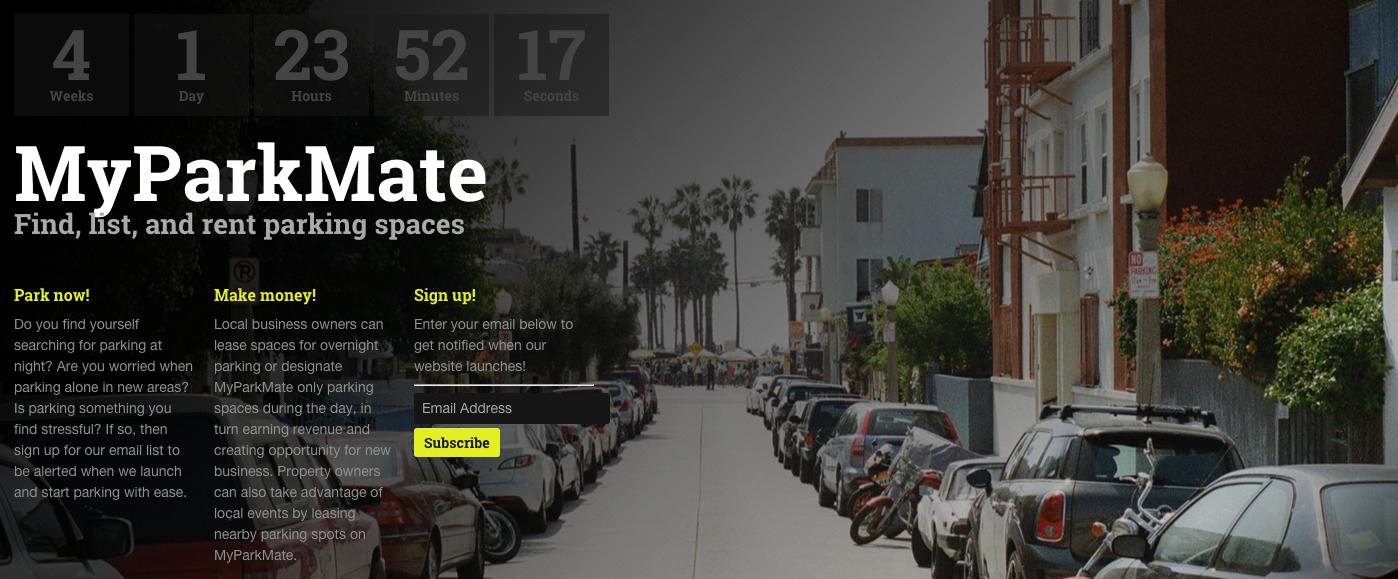 自分の駐車場をシェアできる - MyParkMate