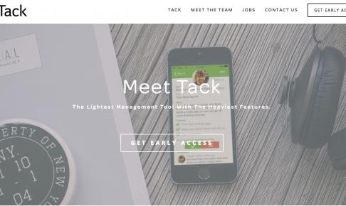 チームマネジメントアプリ - Tack
