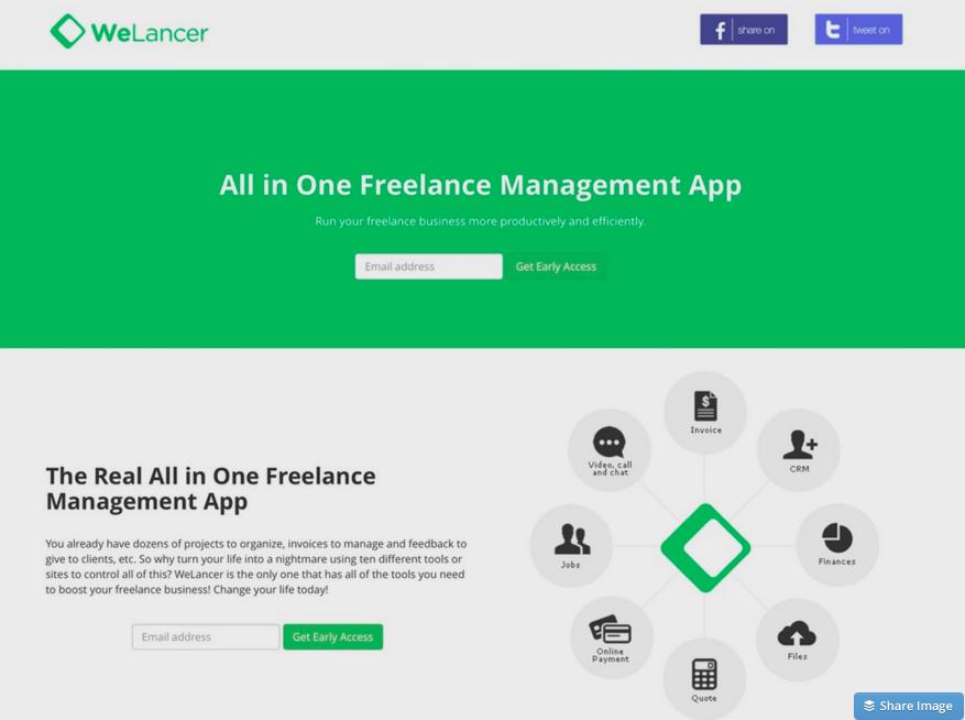 フリーランス管理アプリ - WeLancer