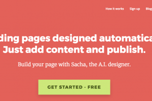 AIボットと会話するだけでウェブサイトをデザインできる - FireDrop