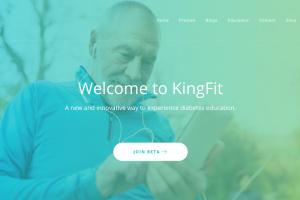 糖尿病予防の教育と管理のためのAIアプリ - KingFit