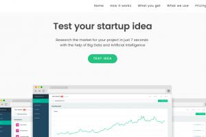 人工知能の力であなたのビジネスアイデアを評価する Test4startup