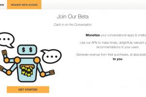 チャットボットのための収益化プラットフォーム Cashbot.ai
