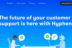 顧客サポート社員のクローンを作るAIチャットボットサービス Hyphen