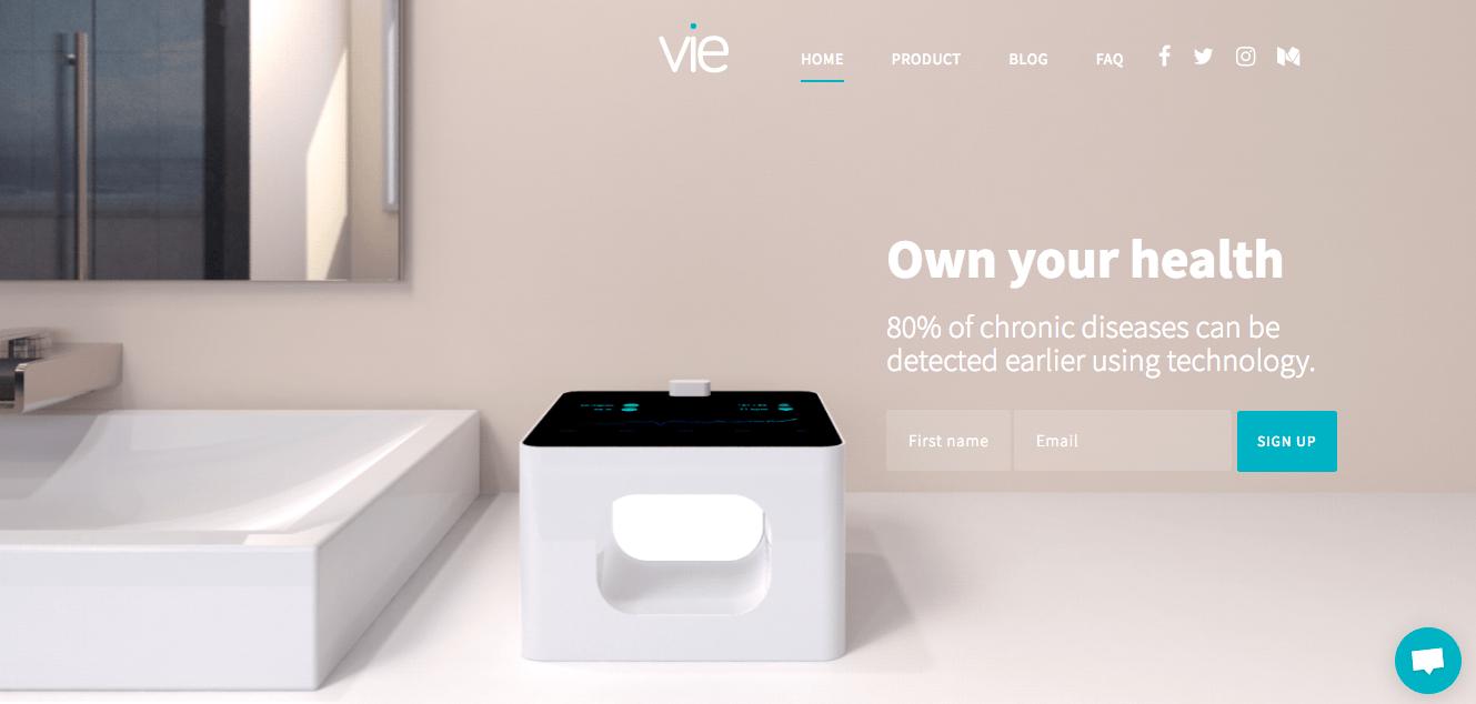 IoTによる在宅医療の未来のかたち Vie