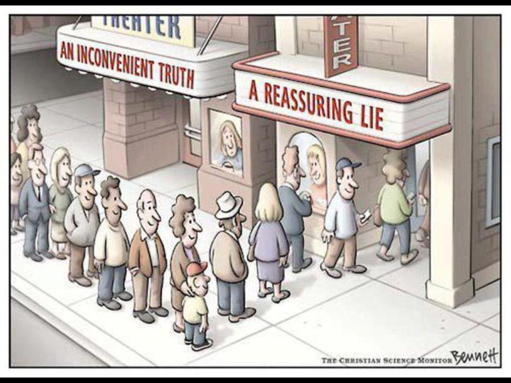 An unconvenient truth